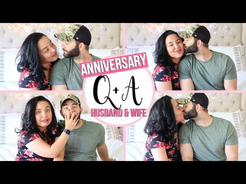 HUSBAND AND WIFE Q&A | CELEBRATING OUR 3 YEAR WEDDING ANNIVERSARY!! | Page Danielle