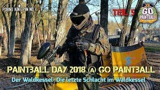★ Paintball Day 2018 @ Go Paintball (Teil 5│Der Waldkessel-Die letzte Schlacht im Waldkessel)