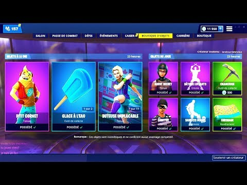 BOUTIQUE FORTNITE du 17 Fevrier 2019 ! ITEM SHOP February 17 2019