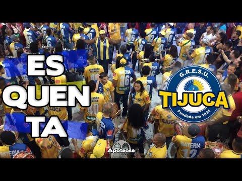 Unidos da Tijuca 2017 - Bateria (Esquenta) - Salgueiro Convida