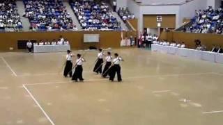 2011年7月3日、姫路で開催された「第5回 世界なぎなた選手権大会」のエキ...