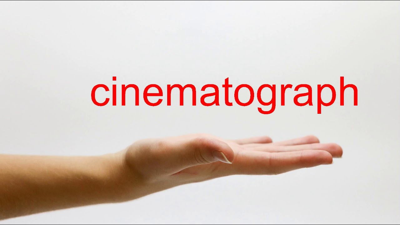 How to Pronounce cinematograph - American English
