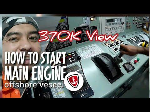 START ENGINE |Sepuluh Menit waktu yang dibutuhkan untuk start Main Engine di Kapal |OFFSHORE |Daily