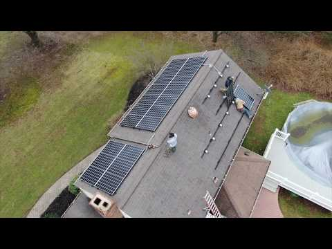 Solar Installation in Pittstown NJ 9.1 KW