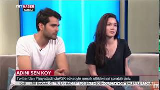 Adini Sen Koy English -  Hazal Subasi & Erkan Meric - Interview - part 2