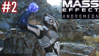Mass Effect Andromeda - Part 2 - Combat & Exploration! - Mass Effect Andromeda Gameplay