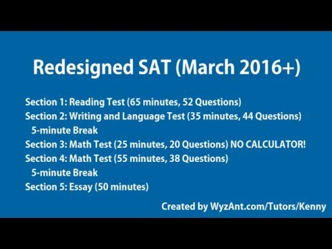 Virtual SAT Proctor (For the Redesigned / New SAT with Essay)