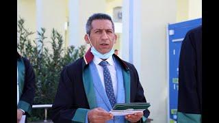 Başkan Abdurrahim Burak'ın baro genel kurullarının ertelenmesine ilişkin basın açıklaması