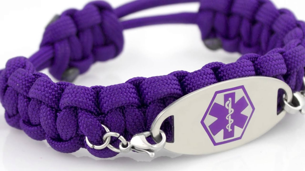 Paracord Medical Id Bracelets