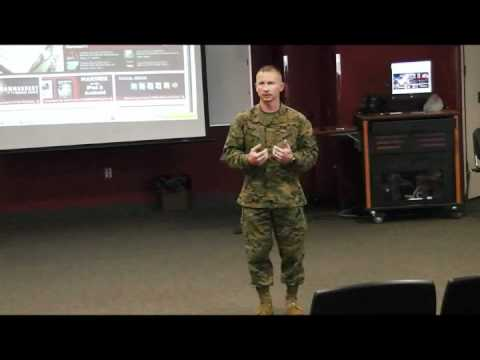Chief Warrant Officer Lasyone: The Few, The Proud, The Marines - Part 1
