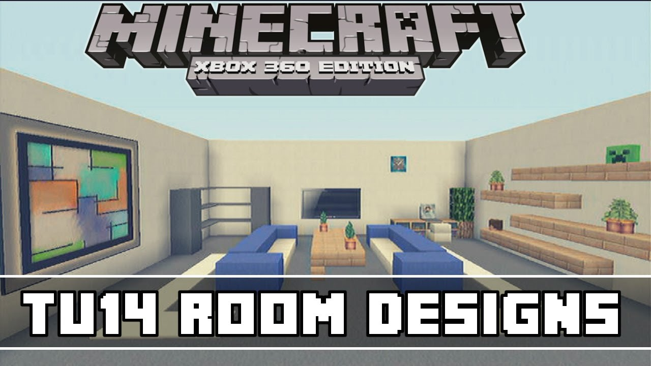 Minecraft Bedroom Ideas Xbox 360 minecraft xbox 360 - tu14 living room designs - youtube