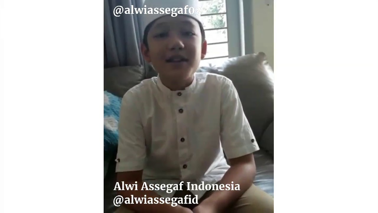 Alwi Assegaf mengucapkan Selamat Hari Raya Idul Fitri 1439 H