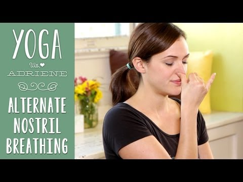 Yoga Breathing | Alternate Nostril Breathing