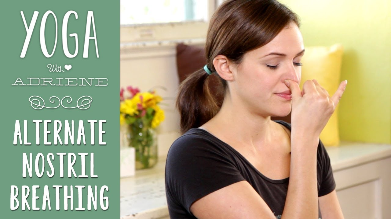 Yoga Breathing Alternate Nostril Breathing Youtube