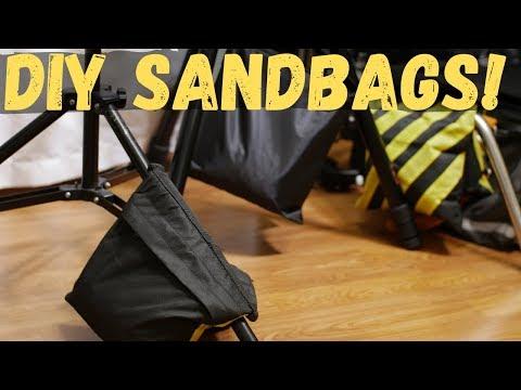 DIY Sandbags - Film Gear on a Budget + Set Safety