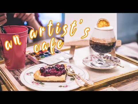 CAFE WHERE YOU CAN PAINT | FromTheo Coffee