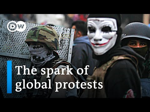 What do the protests around the globe have in common? | DW News