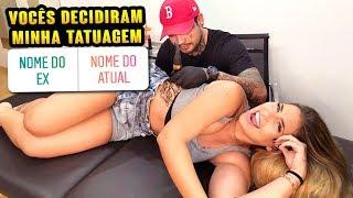 VOCÊS DECIDIRAM MINHA TATUAGEM POR ENQUETE!!!!