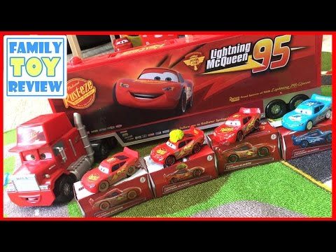 Disney Cars 3 Toys - New Diecast Cars for 2017 - Lightning Mcqueen Cars Collection Toy Cars for Kids - 동영상