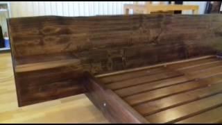 Кровать из массива Дерева готовое изделие(, 2017-01-18T11:48:56.000Z)