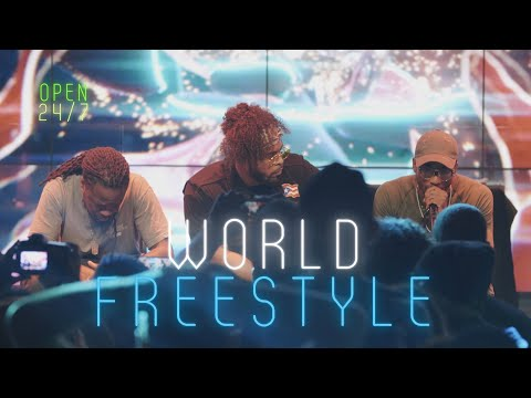 WORLD FREESTYLE CYPHER // 24/7 LIVE STREAM