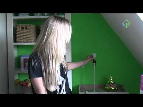 GrünsparTV - Leuchtverhalten einer Energiesparlampe (Globe)