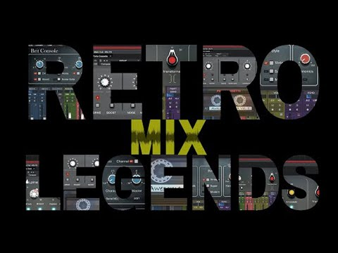 Add Three Classic Consoles to Studio One with Retro Mix Legends