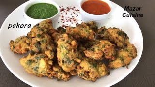 Easy And Tasty Pakora Recipe For Iftar , Ramzan Special Recipe پکوره سبزیجات  Afghani Pakawra
