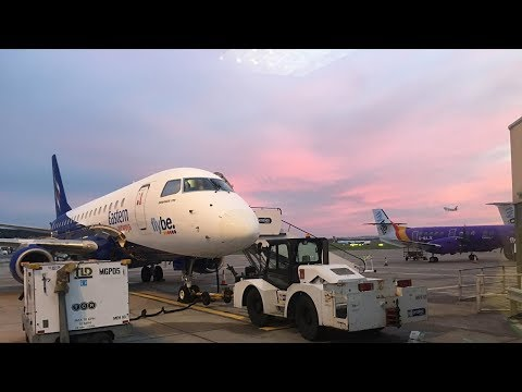 EASTERN AIRWAYS INAUGURAL FLIGHT TO SUMBURGH | TRIP REPORT | Embraer E170 | Aberdeen to Sumburgh