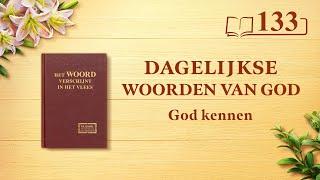 Dagelijkse woorden van God | God Zelf, de unieke III | Fragment 133