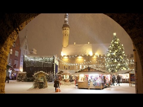 Best Christmas Markets in Europe - Tallinn, Estonia
