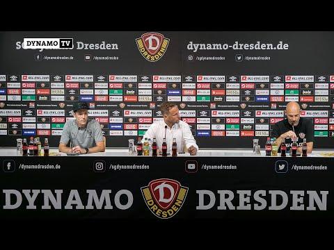 1. Spieltag | SGD - FCI | Pressekonferenz nach dem Spiel