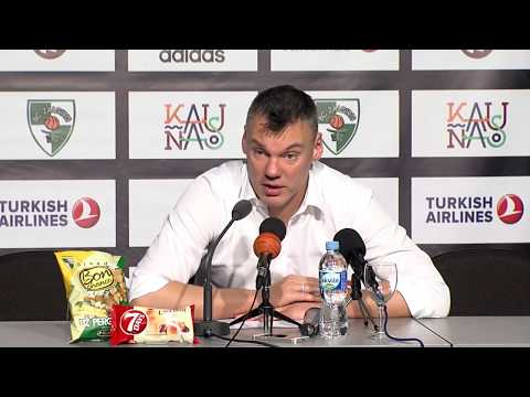 EuroLeague: Žalgiris Kaunas – Panathinaikos Athens press conference
