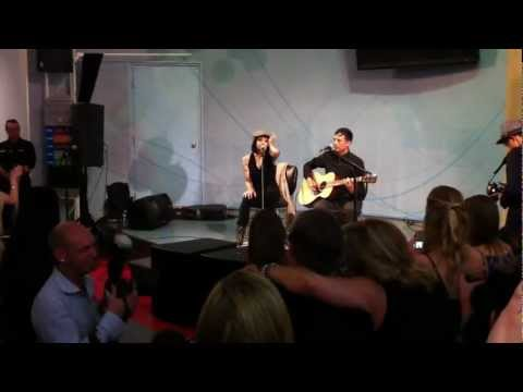 Bif Naked at the World Art Expo - Vancouver