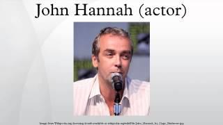 John Hannah (actor)