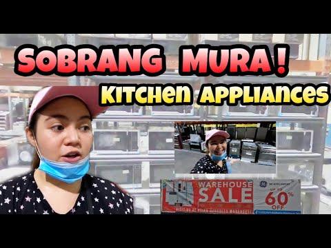 V101. MURANG KITCHEN APPLIANCES UP TO 60% DISCOUNT   DISTRIBUTORS WAREHOUSE SALE    GE Appliances