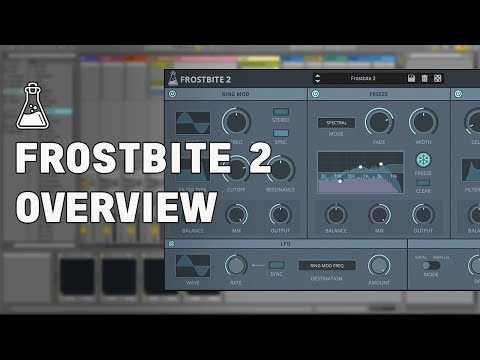 Frostbite 2 Overview - Spectral Freeze Plugin (VST, AU, AAX)