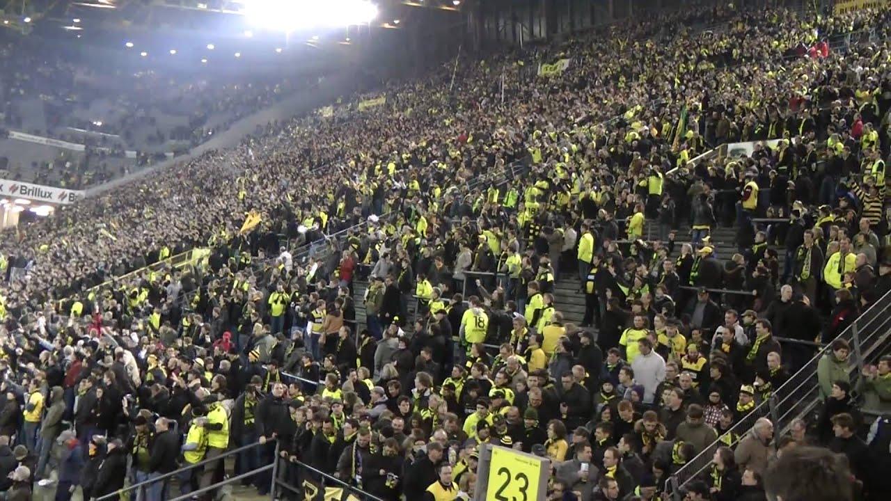 BVB - S04 Derby Stimmung Spiel Borussia Dortmund  HD