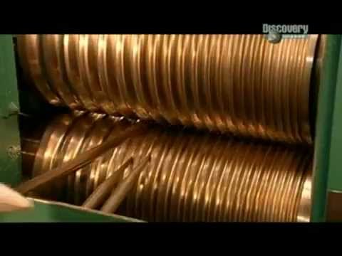 Полный цикл изготовления золотых цепочек