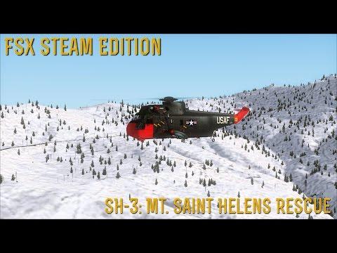 [FSX SE] MISSIONS: SH-3 Mount Saint Helens Rescue