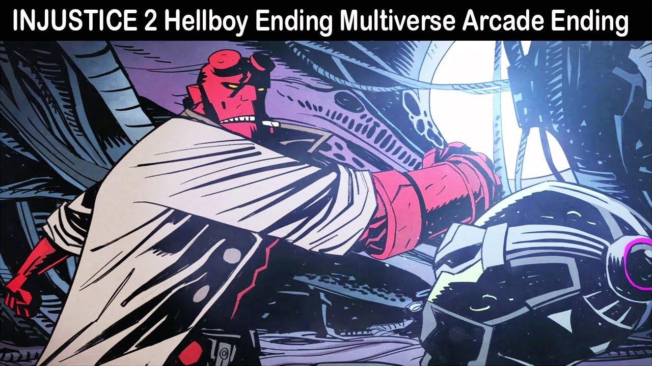 Download INJUSTICE 2 Hellboy Ending Multiverse Arcade Ending Cutscenes
