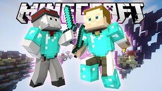 [GEJMR] Minecraft - Nová stavící mašinka! 🤖 Skywars