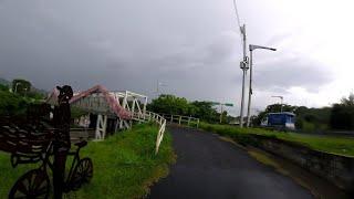 Una tarde lluviosa en san salvador. EL SALVADOR.