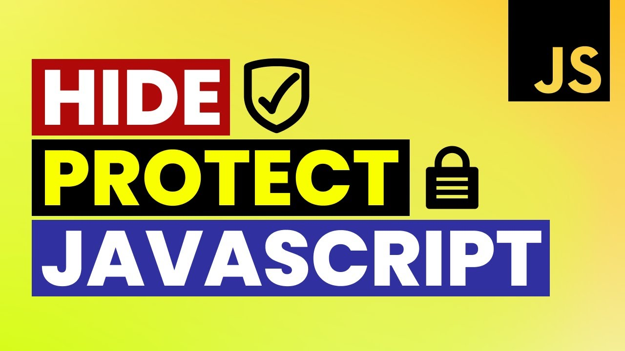 How to protect javascript