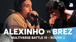 ALEXINHO vs BREZ | Multiverse Beatbox Battle 2019 | 2nd Round