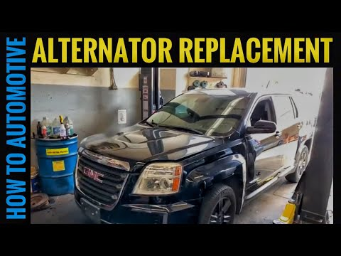 How to Replace the Alternator on a 2010-2017 Chevrolet Equinox or GMC Terrain With 2.4L Engine