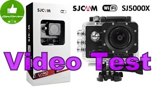 ✔ SJCAM SJ5000x 1080 60fps + 3x Gimbal Z-One Pro! Video Test. Gearbest
