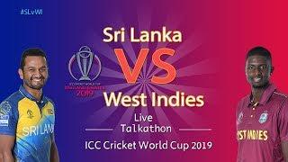 Sri Lanka vs West Indies #SLvWI - LIVE Talkathon-DD Sports-ICC Cricket World Cup 2019