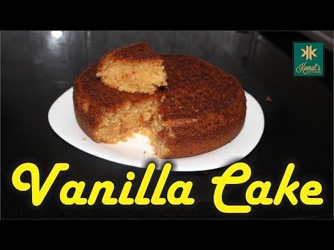 Basic Eggless Cake Recipe | Eggless Cake Without Condensed Milk | Vanilla Sponge Cake