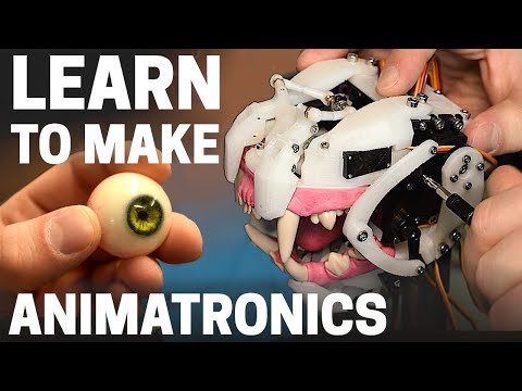 How To Get Started With Animatronics – Thought Process, Workflow, Resources And Skills